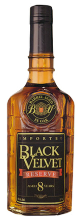 Black Velvet Reserve Whisky 8 year old