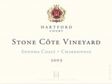 Hartford Court Stone Côte Vineyard Chardonnay 2009