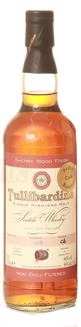 Tullibardine Sherry Wood Finish Single Malt Scotch Whisky