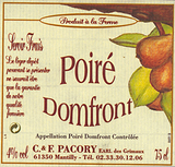 Pacory Poire Domfront Cider