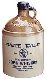 Platte Valley Moonshine Srtaight Corn Whiskey