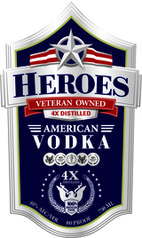 Heroes Veteran Owned American Vodka