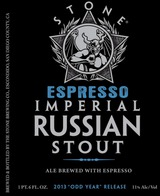 Stone Brewing Co. Espresso Imperial Russian Stout