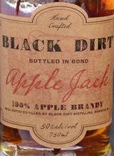 Black Dirt Distillery  Apple Jack