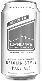Upslope Brewing Company Belgian Style Pale Ale