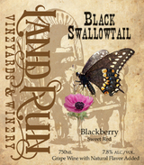 Land Run Black Swallowtail Blackberry Sweet Red