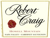Robert Craig Howell Mountain Cabernet Sauvignon