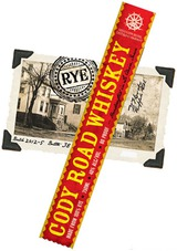 Mississippi River Distilling Company Cody Road Rye Whiskey