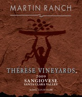 Martin Ranch Thérése Vineyards Sangiovese 2009
