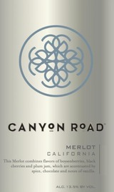 Canyon Road Merlot 2012