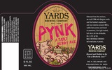 Yards Brewing Company Pynk Tart Berry Ale