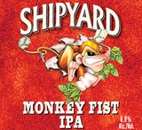 The Shipyard Brewing Co. Monkey Fist IPA