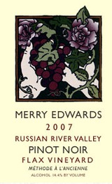 Merry Edwards Flax Vineyard Pinot Noir 2007