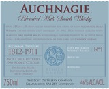 The Lost Distillery Auchnagie Blended Malt Scotch Whisky