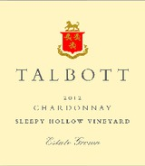 Talbott Sleepy Hollow Vineyard Chardonnay 2012