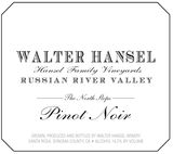 Walter Hansel The North Slope Pinot Noir 2011