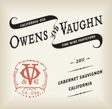 Owens and Vaughn Cabernet Sauvignon 2012