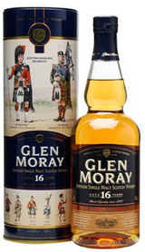 Glen Moray Single Malt Scotch Whisky 16 year old