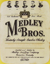 Medley Brothers Kentucky Straight Bourbon Whiskey