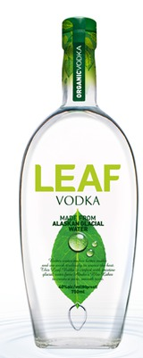 Leaf  Vodka Alaskan Glacial Water Vodka