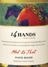 14 Hands Hot To Trot White Blend 2012