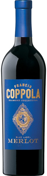 Francis Ford Coppola Diamond Series Blue Label Merlot 2012