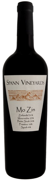 Spann Vineyards Mo Zin 2011