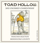 Toad Hollow Francine's Selection Chardonnay 2012