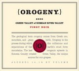 Orogeny Russian River Valley Pinot Noir 2013