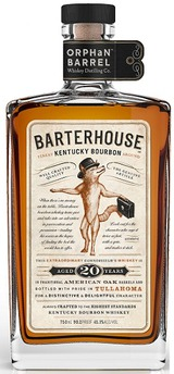 Orphan Barrel Barterhouse Kentucky Bourbon 20 year old