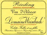 Domaine Weinbach Reserve Personnelle Riesling 2012