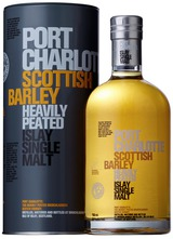 Bruichladdich Port Charlotte Scottish Barley Heavily Peated Islay Single Malt Scotch Whisky