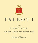 Talbott Sleepy Hollow Vineyard Pinot Noir 2012