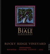 Robert Biale Rocky Ridge Vineyards Zinfandel 2012