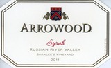 Arrowood Saralee's Vineyard Syrah 2011