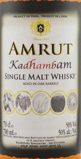Amrut Kadhambam Single Malt Whisky