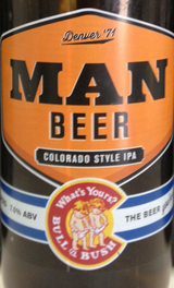 Bull & Bush Brewery Man Beer IPA