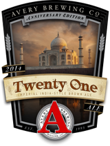 Avery Brewing Co. 21st Anniversary India Style Brown Ale