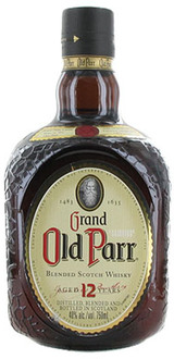Grand Old Parr Blended Scotch Whisky 12 year old