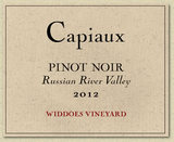 Capiaux Widdoes Vineyard Pinot Noir 2012