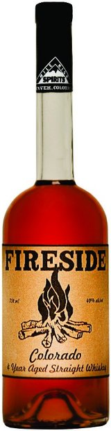 Mile High Fireside Colorado Whiskey 4 Ye