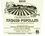 Domaine Overnoy-Crinquand Arbois Pupillin Chardonnay 2011