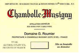 Domaine Georges Roumier Chambolle Musigny 2011