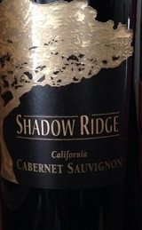 Shadow Ridge Cabernet Sauvignon 2011