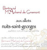 Machard de Gramont Nuits Saint Georges Aux Allots 2010