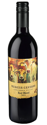 Mercer Canyons Red Blend 2011