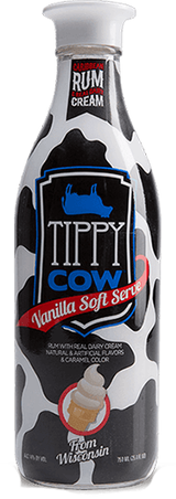 Tippy Cow Rum Creams Vanilla Soft Serve Cocktails