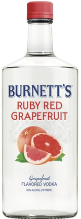 Burnett's Ruby Red Grapefruit Vodka