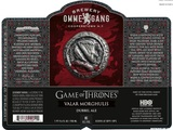 Brewery Ommegang Game Of Thrones Valar Morghulis Dubbel