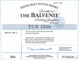 Balvenie Tun 1509 Batch 1 Single Malt Scotch Whisky